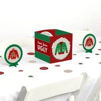 Ugly Sweater - Holiday & Christmas Party Centerpiece & Table Decoration Kit