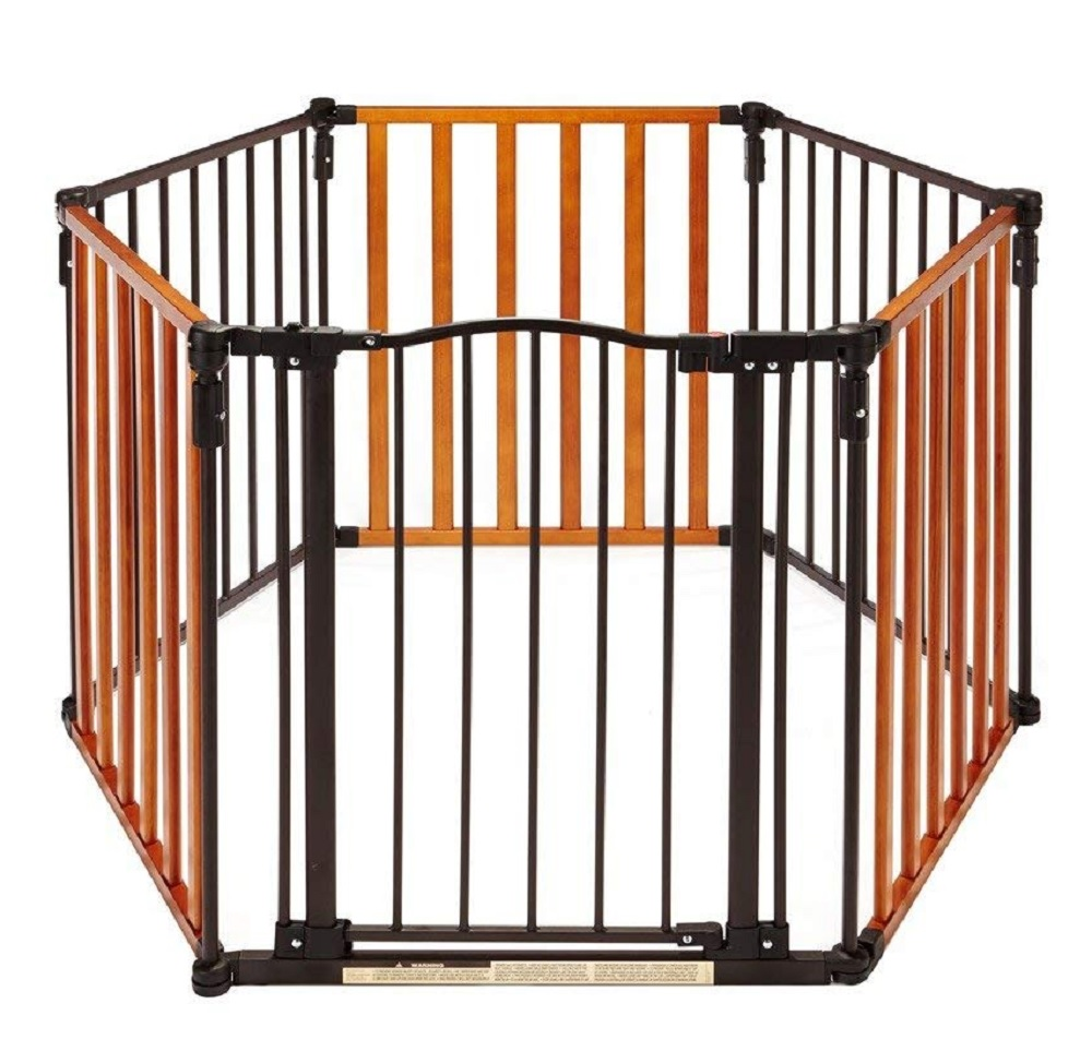 North States 3-in-1 Chesapeake Arched Metal and Wood Petyard