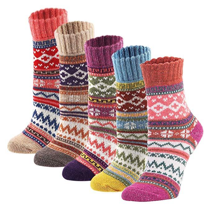 Slipper socks Wool socks women Boot socks Knitted wool socks Hand knit socks Winter socks Colorful socks Knit socks women Cute socks