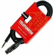 Telefunken Studio Series TRS - XLR Female Cable 30 ft. Black
