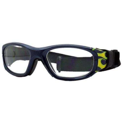 Liberty Sport Specs Protective Sports Eyewear, Navy Flame C, SS2100