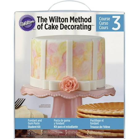 Wilton Cake Decorating Kit Student Kit Course 1 : Wilton Course 3 Student Decorating Kit 2116-2118 - Walmart.com