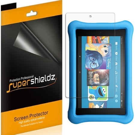 3 Pack  Supershieldz Amazon All New Fire Hd 8 Kids Edition Tablet 8   2017 Release  Screen Protector  Anti Bubble High Definition  Hd  Clear Shield