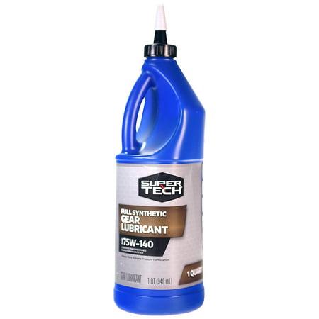 Super Tech Full Synthetic Gear Lubricant 75W-140, 1