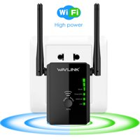 Wavlink N300 Wi-Fi Range Extender, Compact Design w/ Router, High Power Wireless Repeater, Access Point, Signal Amplifier Booster 802.11n/b/g WPS