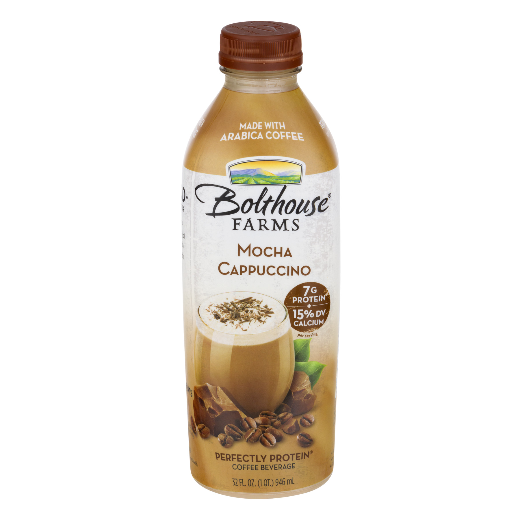 Bolthouse Farms Perfectly Protein Mocha Cappuccino Coffee Beverage 32 fl. oz. Bottle