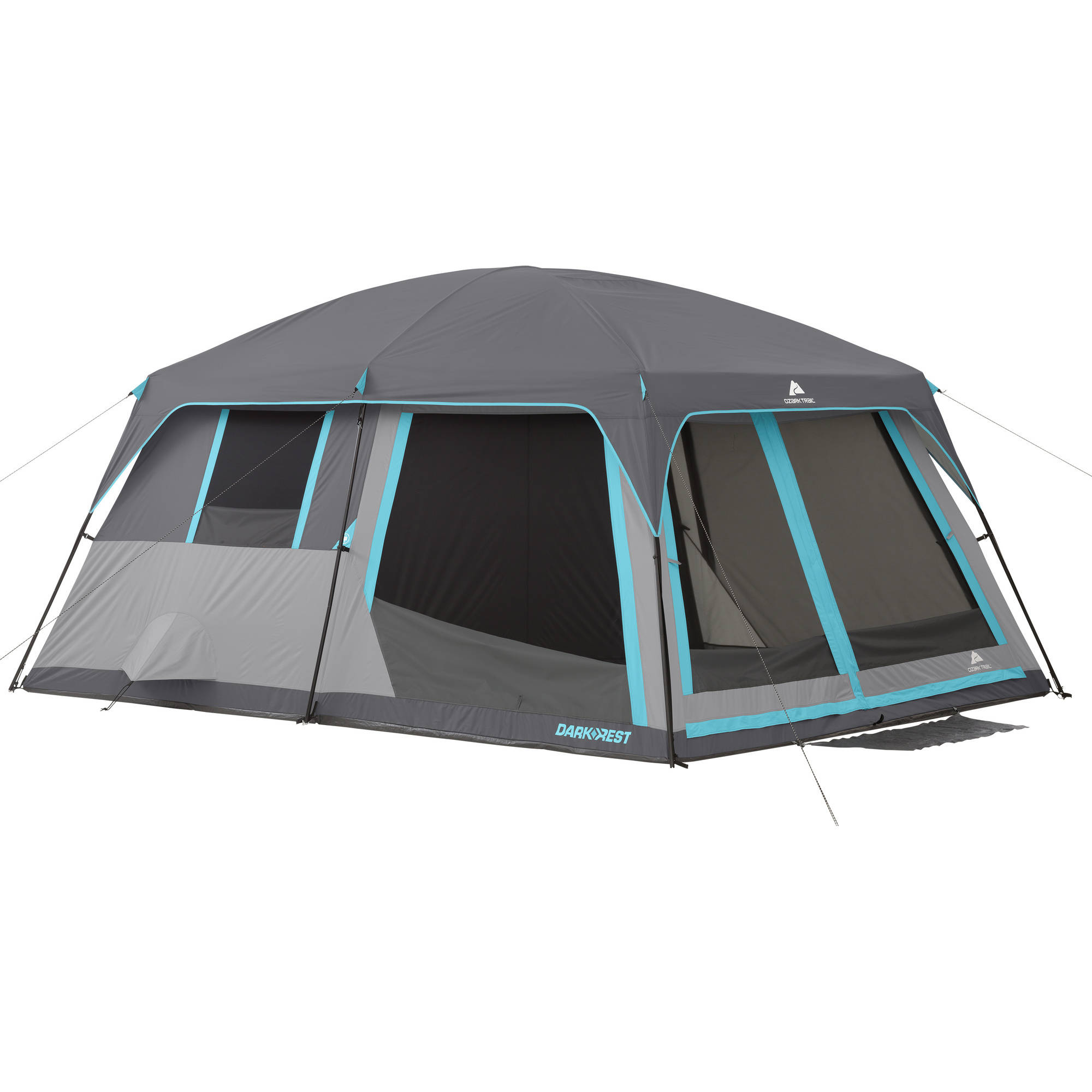 Ozark Trail 14' x 10' Half Dark Rest Frp Cabin Tent, Sleeps 10 by Bohemian Travel Gear Limited