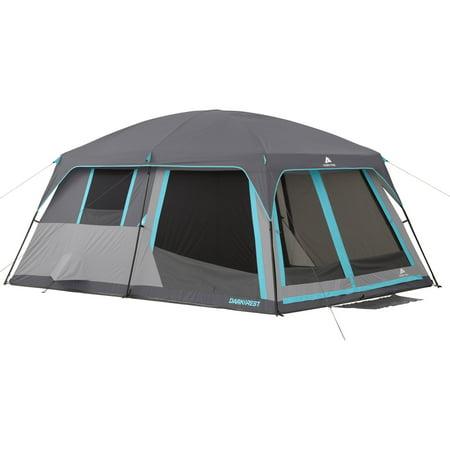 Ozark Trail 14 X 10 Half Dark Rest Frp Cabin Tent  Sleeps 10