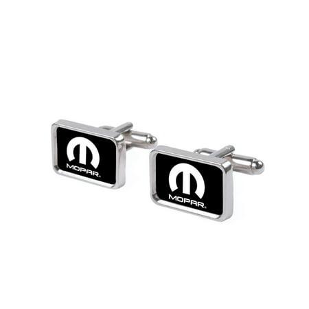 Mopar White Logo Cufflink Set ()