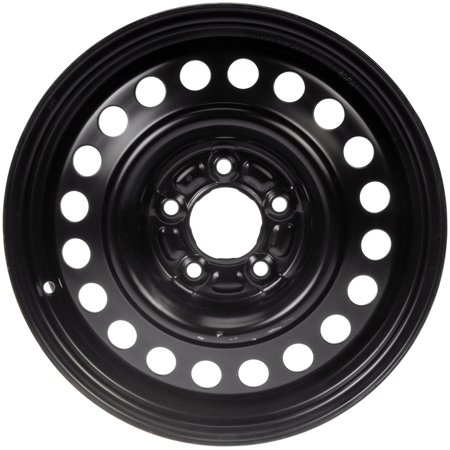 Dorman Steel Wheel With Black Painted Finish  16X6 5  5X155mm