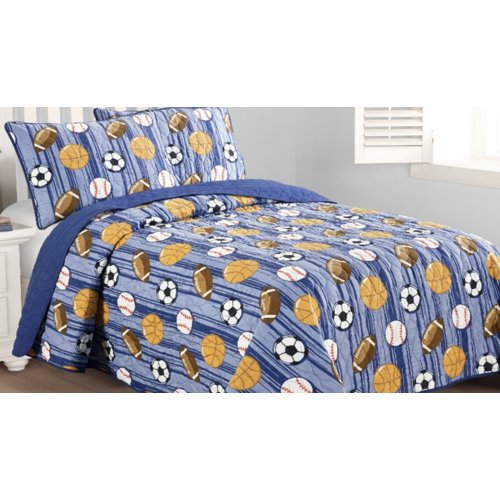Zoomie Kids Augie Junior Varsity Quilt Set