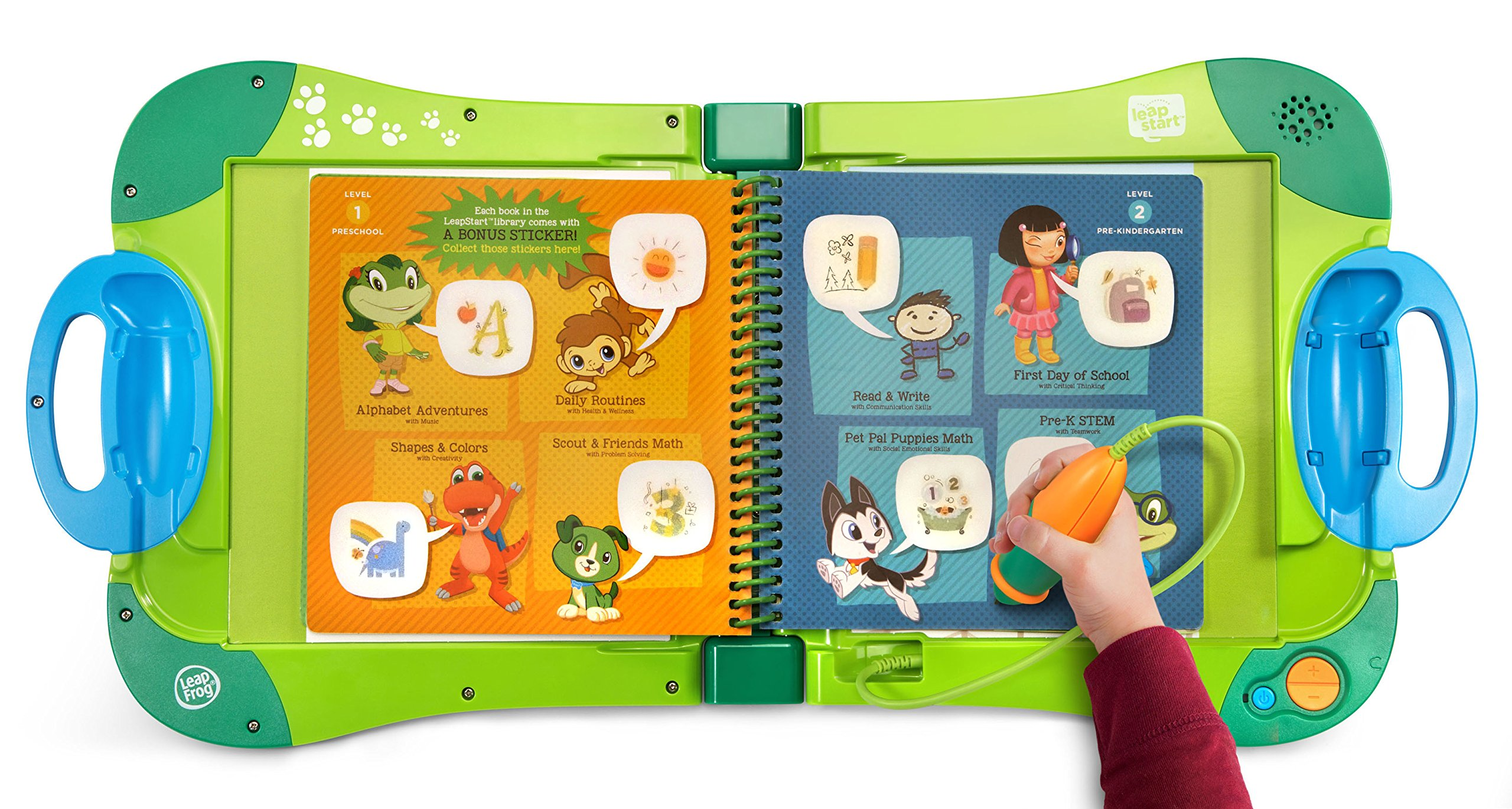 Leapfrog Leapstart Level 1 Preschool Activity Book Bundle