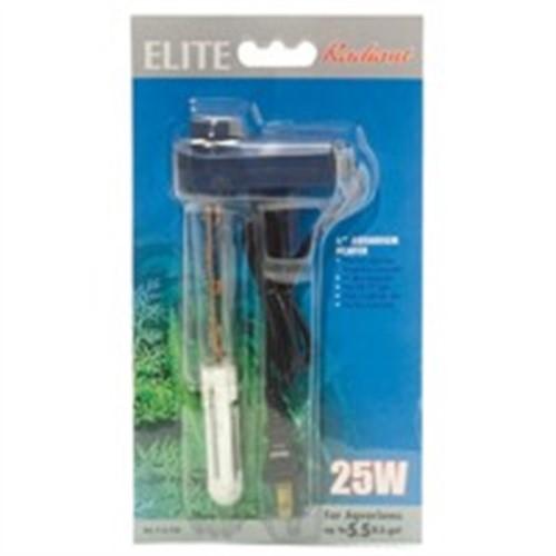 Elite Mini Thermostatic Aquarium Heater, 25-Watt