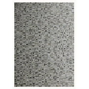 Pasargad PTX-5113 8x10 7 ft. 9 in. x 9 ft. 9 in. Cowhide & Hand-Loomed Sari Silk Area Rug