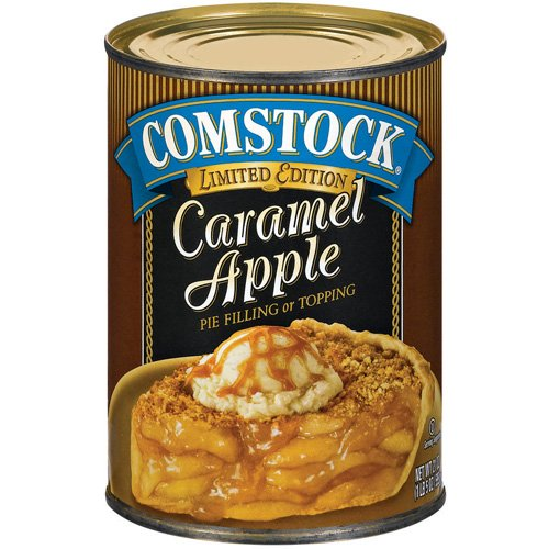 Duncan Hines® Comstock® Original Caramel Apple Pie Filling & Topping 21 oz. Can