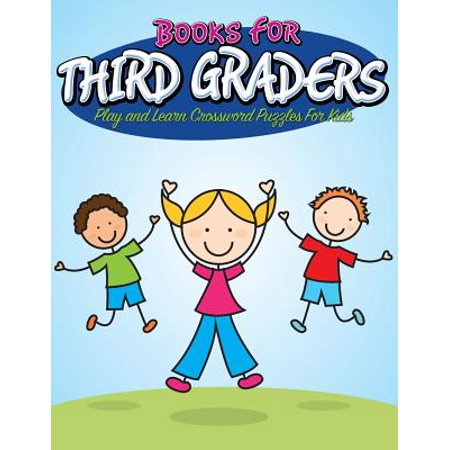 Books for Third Graders : Play and Learn Crossword Puzzles for Kids - Halloween Party Games 3rd Graders