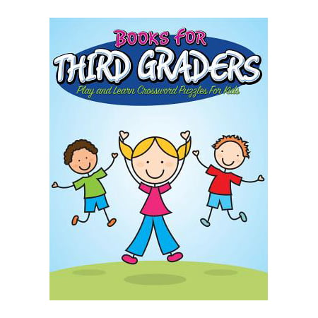 Books for Third Graders : Play and Learn Crossword Puzzles for - Halloween Party Activities For First Graders