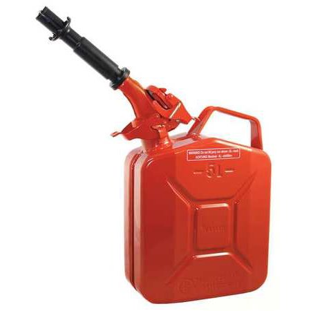 Wavian 2238-5 1 gal. Gas Can, Red