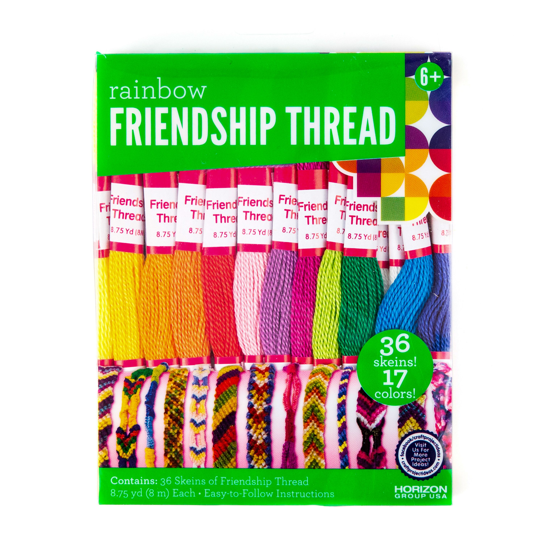 Friendship Thread, Basic Colors by Horizon Group USA