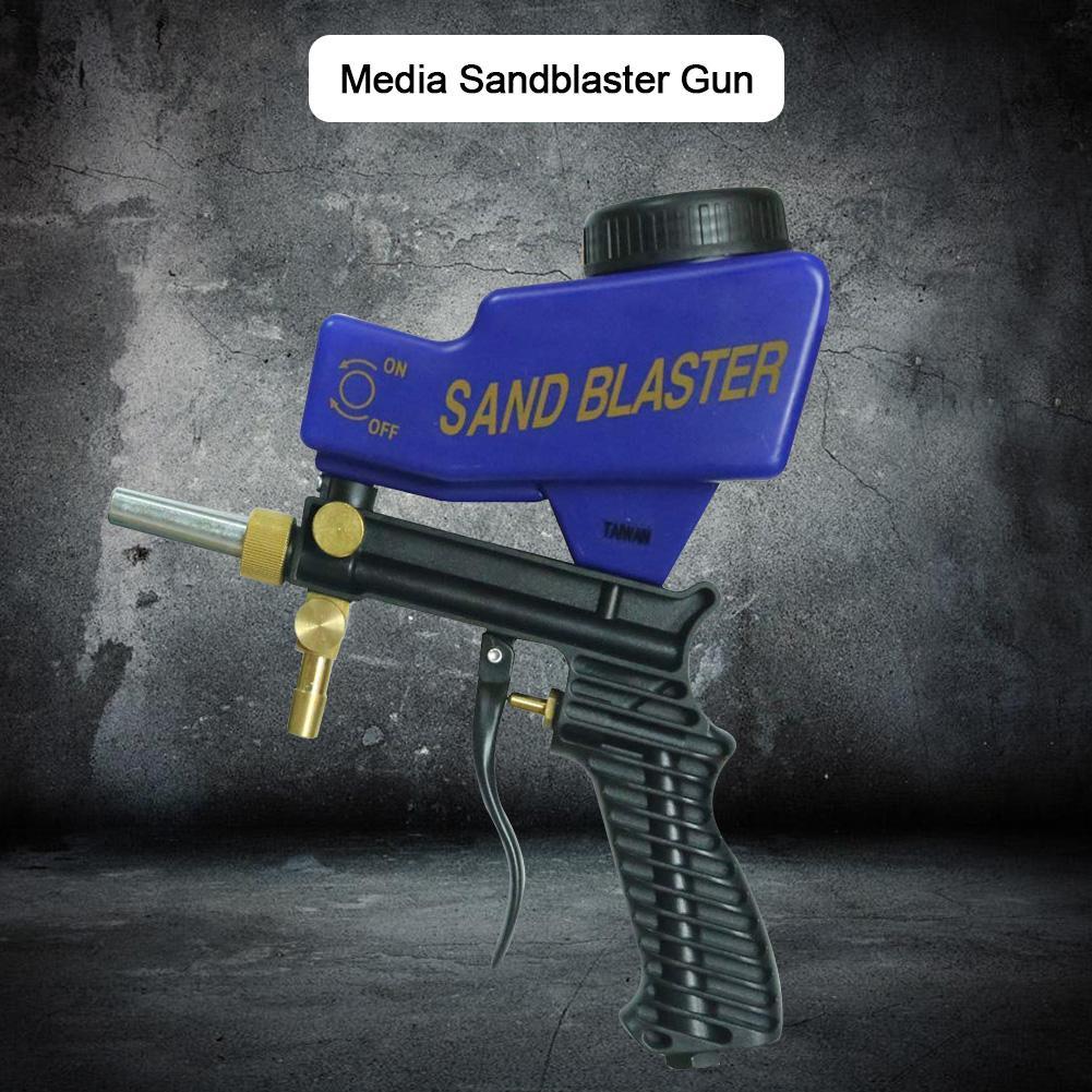 Details about  /Sandblaster Kit Air Nozzles Sandblasting Siphon Feed Blast Gun Tube Sand Blaster