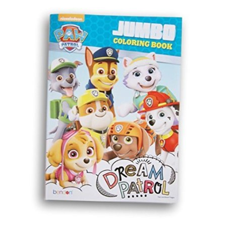 Paw Patrol Dream Patrol Coloring and Activity Book - 96 Pages