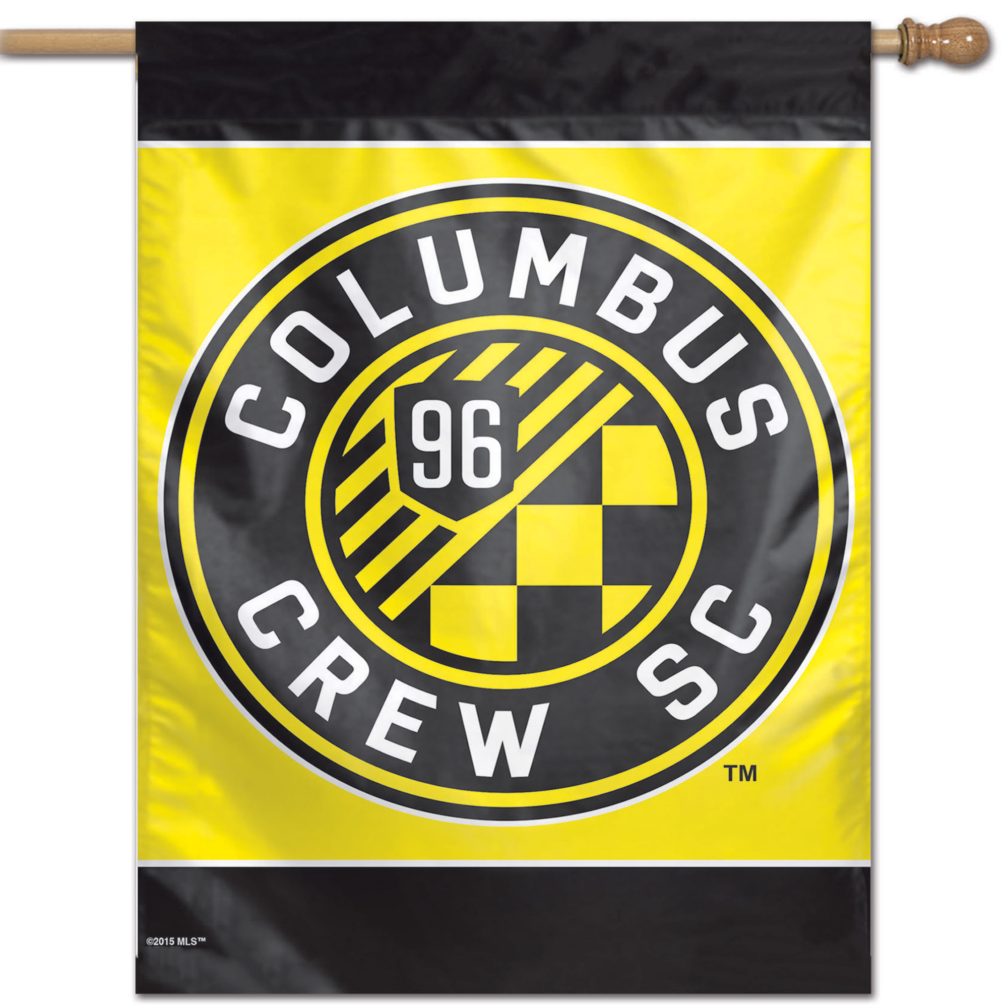 "Columbus Crew SC WinCraft 28"" x 40"" Single-Sided Vertical Banner - No Size"