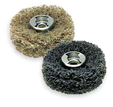 Dremel 511E EZ Lock 180 and 280-Grit Finishing Abrasive Buff Accessories for Sanding, 2-Pack