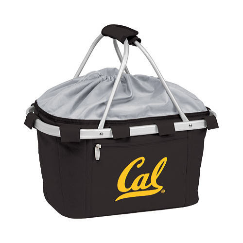 "Picnic Time Metro Basket California Golden Bears Embroidered  19"" x 11"" x 10"""