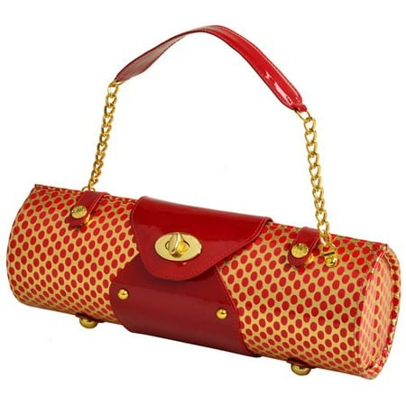 Picnic At Ascot Patent Wine Carrier/Purse