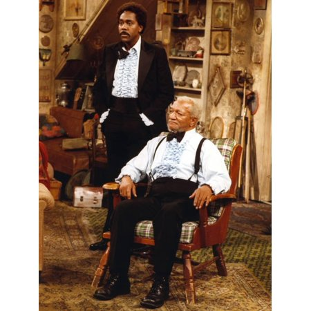 Sanford & Son in Formal Outfit Portrait Print Wall Art By Movie Star News - Movie Star Outfits