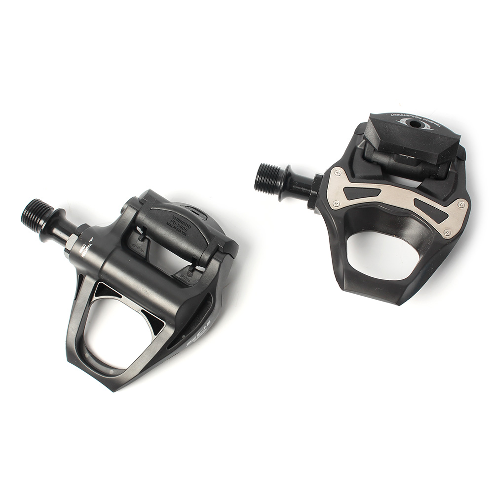 """Clipless Pedals New  105 PD-5800 Carbon SPD-SL 9//16/"""" Road Bicycle Bike 1 Pair"""