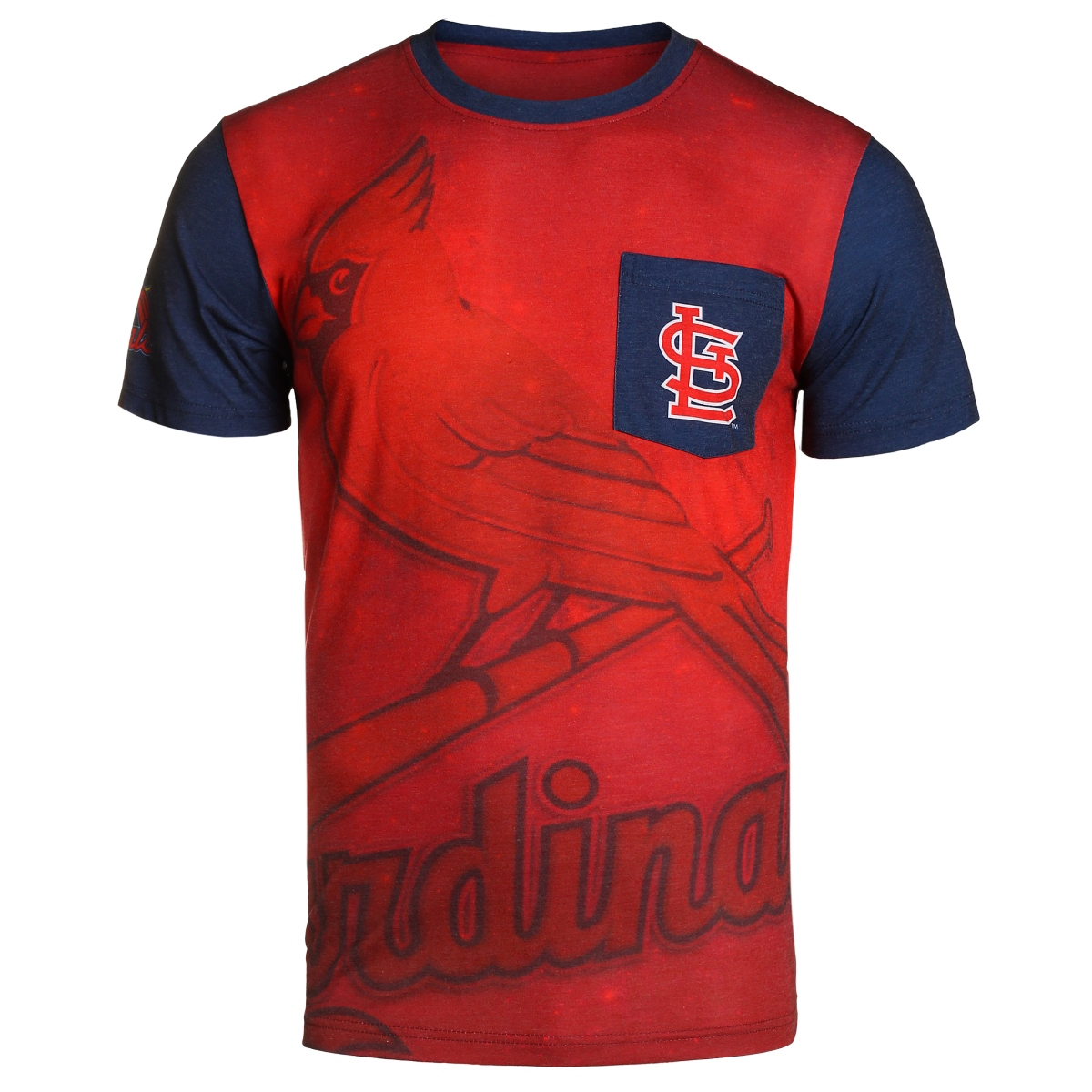 "St. Louis Cardinals MLB ""Star Power"" Men's Short Sleeve Pocket T-Shirt"