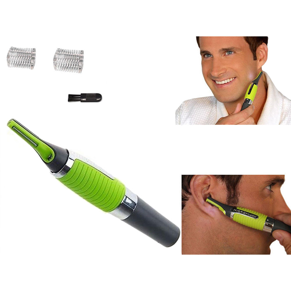 All in One Nose Ear Neck Nasal Sideburns Hair Trimmer Remover Men's Shaver Hair Clipper Remover
