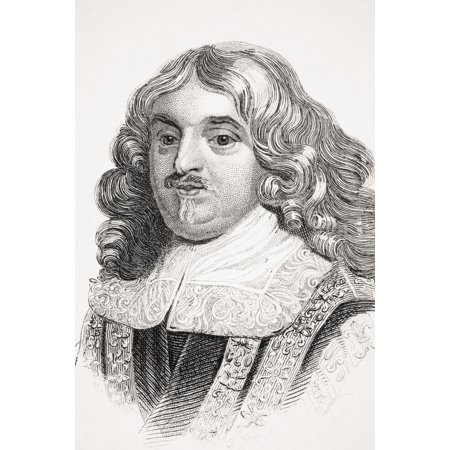 Edward Hyde 1St Earl Of Clarendon Viscount Cornbury Aka Sir Edward Hyde And Baron Hyde Of Hindon 1609-1674 English Statesman And Historian From Old Englands Worthies By Lord Brougham And Others Publis ()