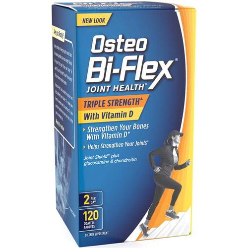 Osteo Bi-Flex Joint Health Dietary Supplement Tablets, 120 count