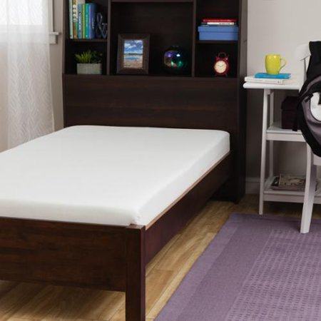 swisslux back to college 6 inch twin or twin xl memory foam mattress. Black Bedroom Furniture Sets. Home Design Ideas