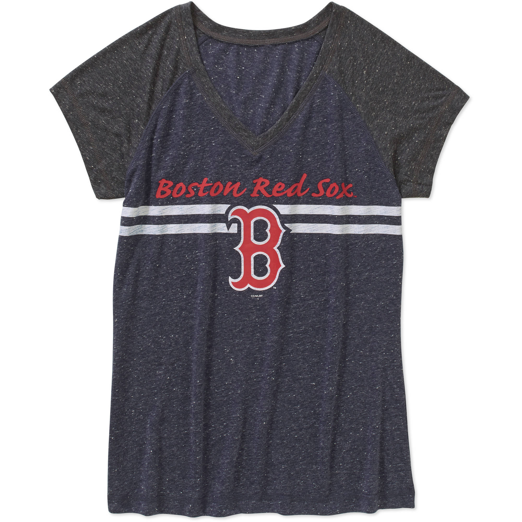 MLB Women's Boston Red Sox Short Sleeve Top