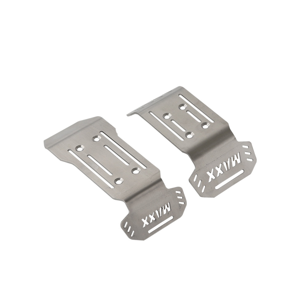 304 Stainless Steel Chassis Armor Guard Plate Parts for Traxxas 1//10 MAXX