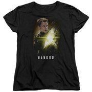 Star Trek Beyond Chekov Poster Womens Short Sleeve Shirt