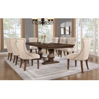 Best Quality Furniture Clasic Style 9pc Dining Set D42