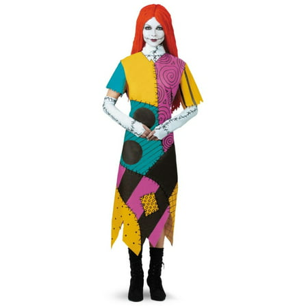 The Nightmare Before Christmas Sally Women Plus size Costume](The Nightmare Before Christmas Halloween Makeup)