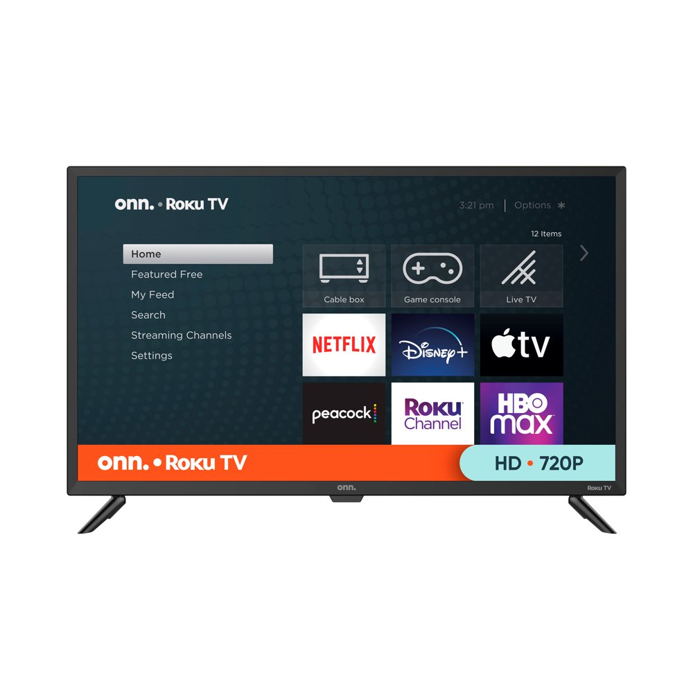 "onn. 32"" Class HD (720P) Roku Smart LED TV (100012589)"