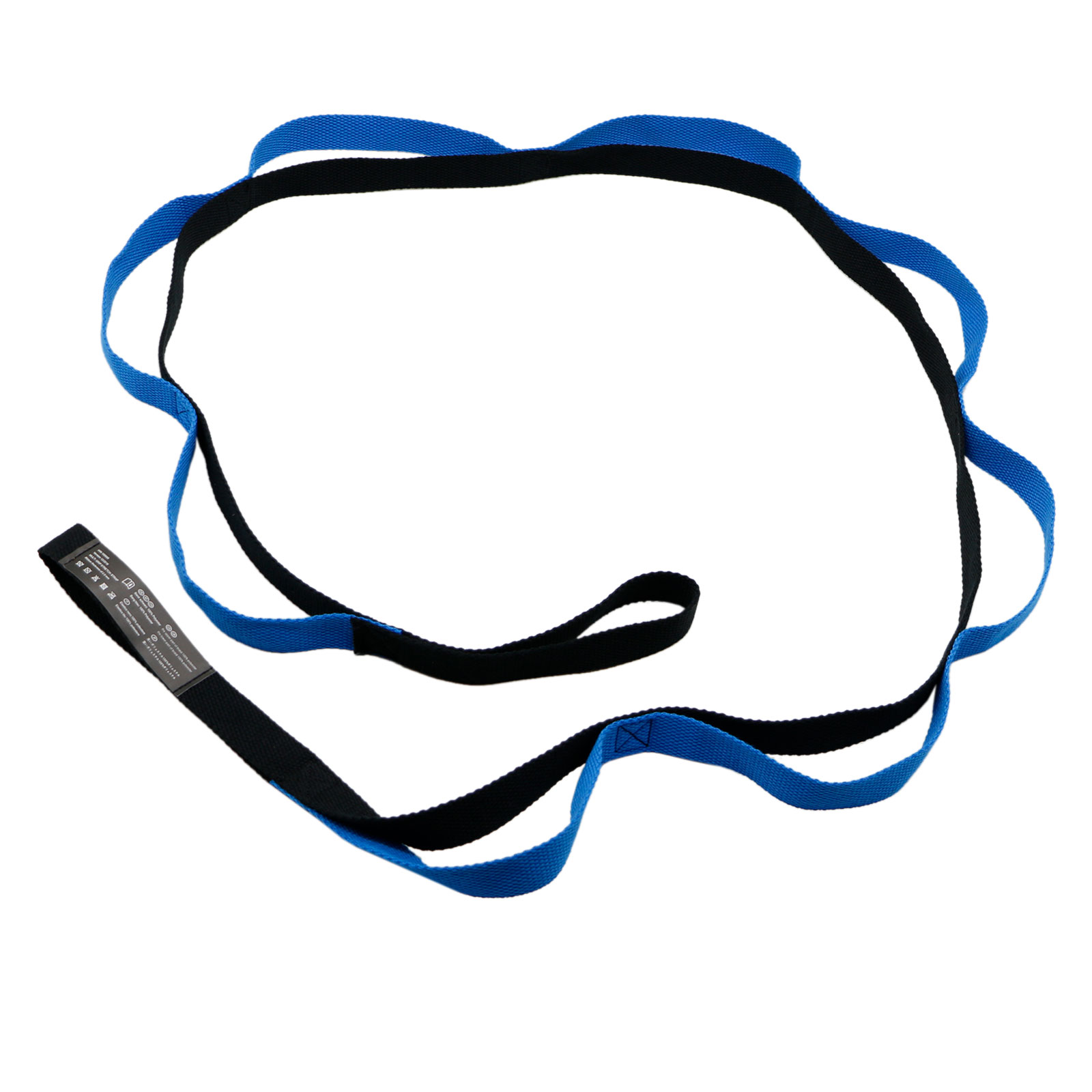 10 Fixed Loops Exercise Yoga Stretching Out Strap with Handle for Athletes Dancer, Your Physical Therapists &... by EEEKit