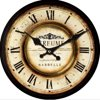 12 Inch Vintage European Pastoral Style Roman Numeral Design Silent Wall Clock