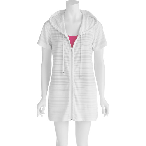 Plus Size Terry Cloth Swimsuit Cover UPS