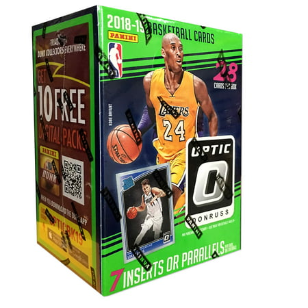 Legends Basketball Hobby Box - 2018-19 PANINI DONRUSS OPTIC NBA BASKETBALL VALUE BOX