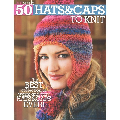 50 Hats & Caps to Knit