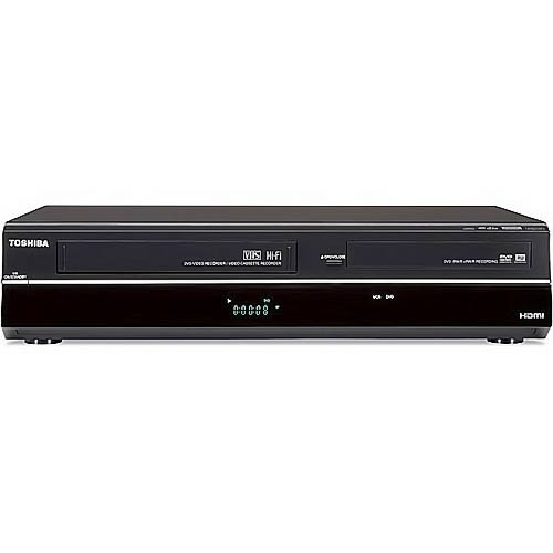 Toshiba DVR620 DVD/VHS Recorder (Black) (Discontinued)