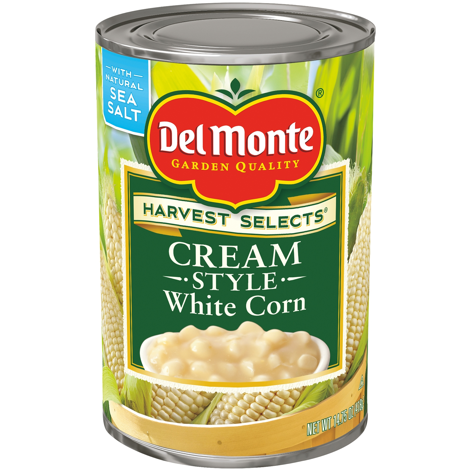 Del Monte® Harvest Selects® Cream Style White Corn 14.75 oz. Can