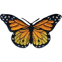 Wrights Iron-On Applique-Monarch Butterfly